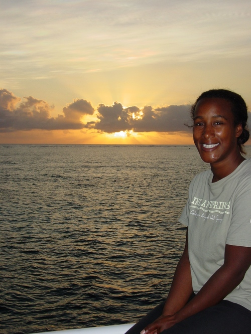Cairns_prodive_sanyu_at_sunset