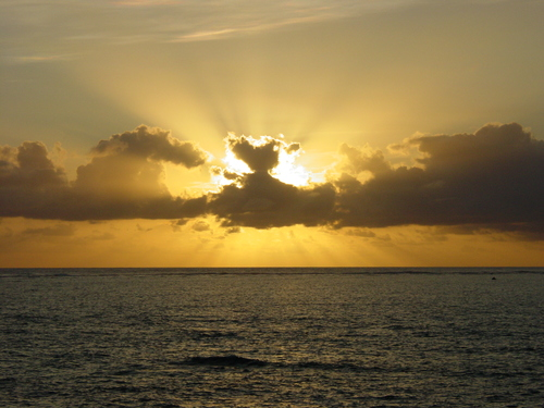 Cairns_prodive_sunset