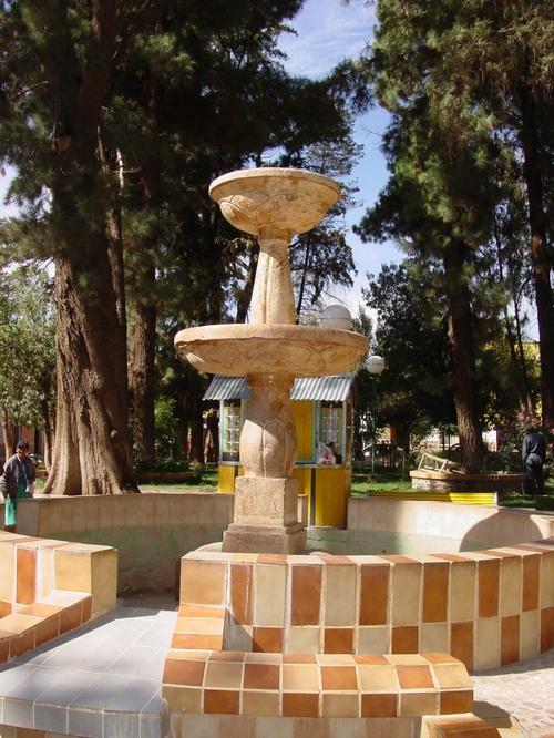 Tupiza_fountain