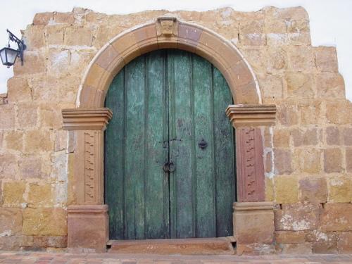 Barichara_door