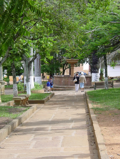 Barichara_park
