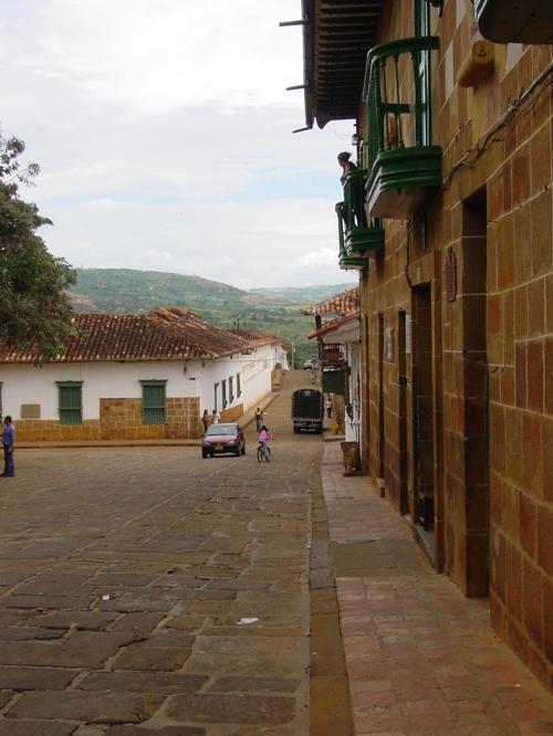 Barichara_street_view