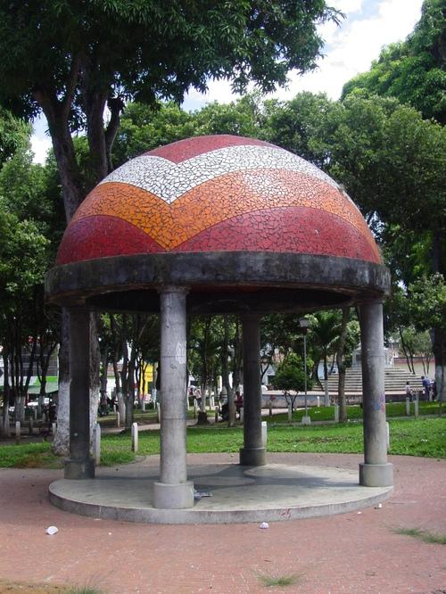 Bucaramanga_park_gazebo
