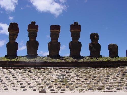Anakena_moai
