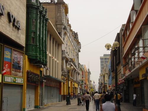 Lima_jiron_de_leon_shopping_street