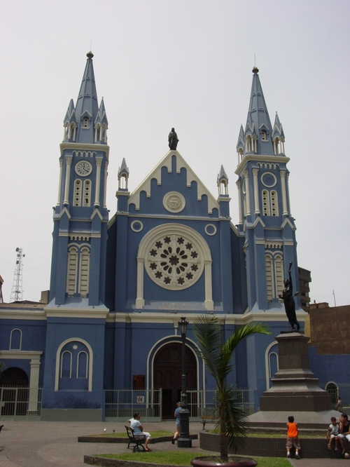 Lima_recoleta_church