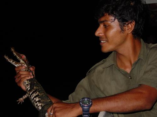 reserva_amazonica_luis_with_lizard_ii