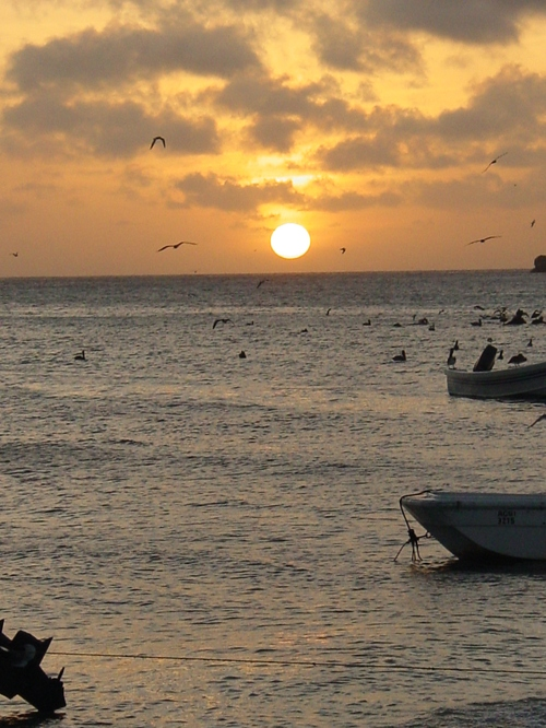 Los_roques_sunset