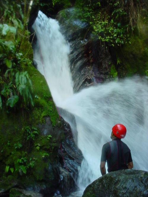 Merida_canyoning_waterfall